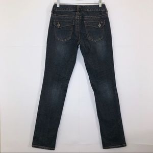 Tommy Hilfiger Straight Leg Jeans w/ Flap Pockets
